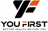 You First Company Logo with Better Health, Better You Tagline